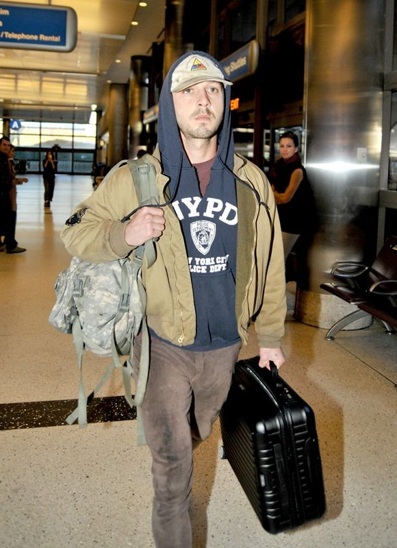 Shia LaBeouf paper bag performance art|Lainey Gossip Entertainment Update