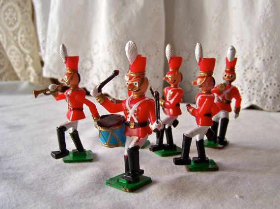Vintage Marching Band Cake Toppers by cynthiasattic on Etsy, $12.00