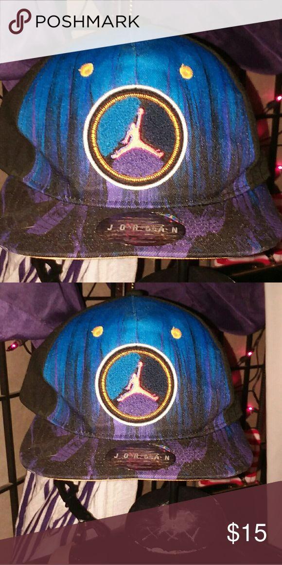 JORDAN 🎈🎈 Jordan  aqua 8 youth hat .snap back .Gently used. Good condition. Jordan Other