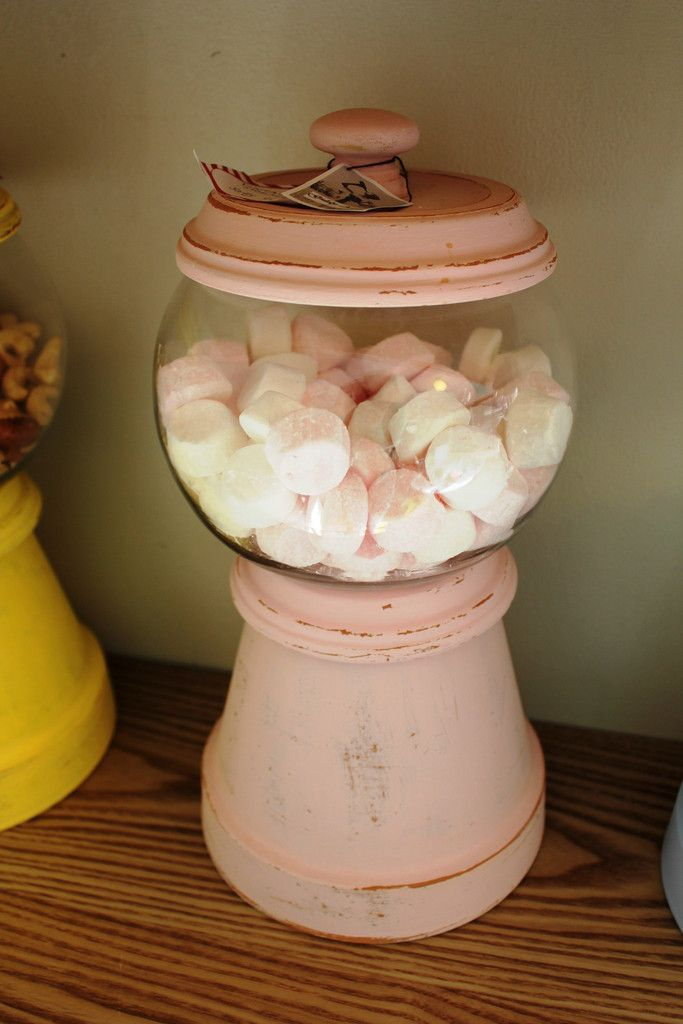 Gorgeous Novelty Jars, carefully handmade and available in a range of colours...