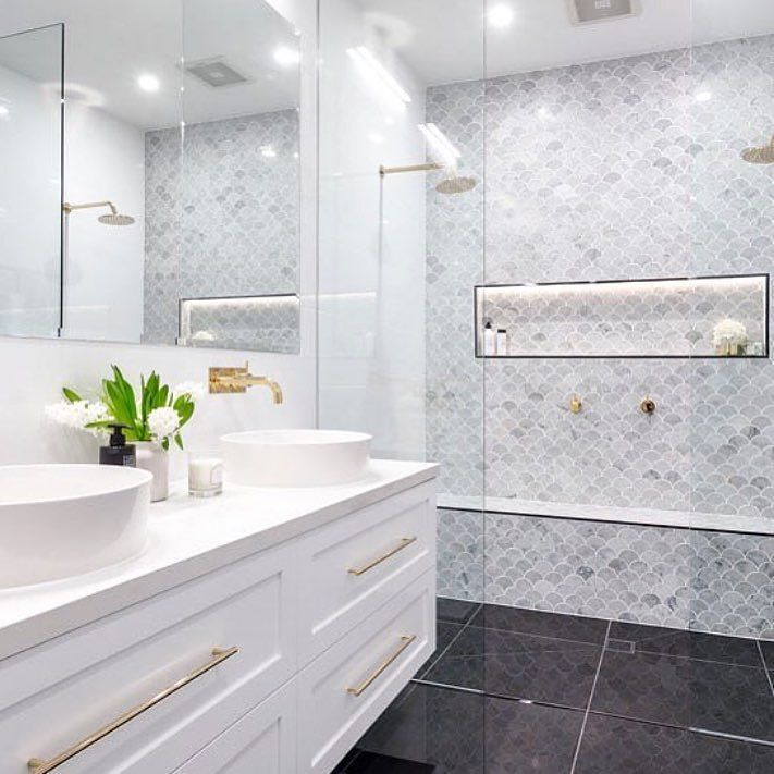 Great looking #tiles and fantastic #shower space in the #bathroom from…