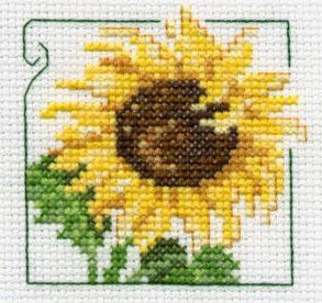 cross stitch patterns sunflower - Google Search