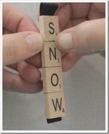 Images about christmas decorations on pinterest scrabble ornaments