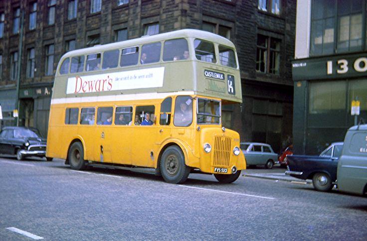 56 Best Buses Images On Pinterest: 52 Best Images About Glasgow In The 1960's, 70's & 80's On