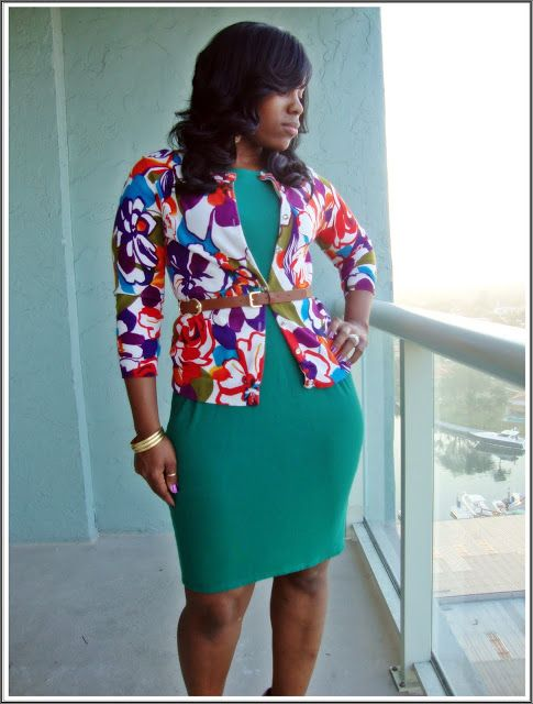 Curves and Confidence | Curvy Personal Style Blogger : Everybody Everywear: Floral