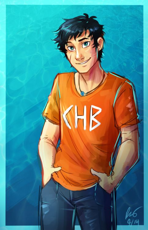 electricgale: woah look at that my first percy jackson fan art everr