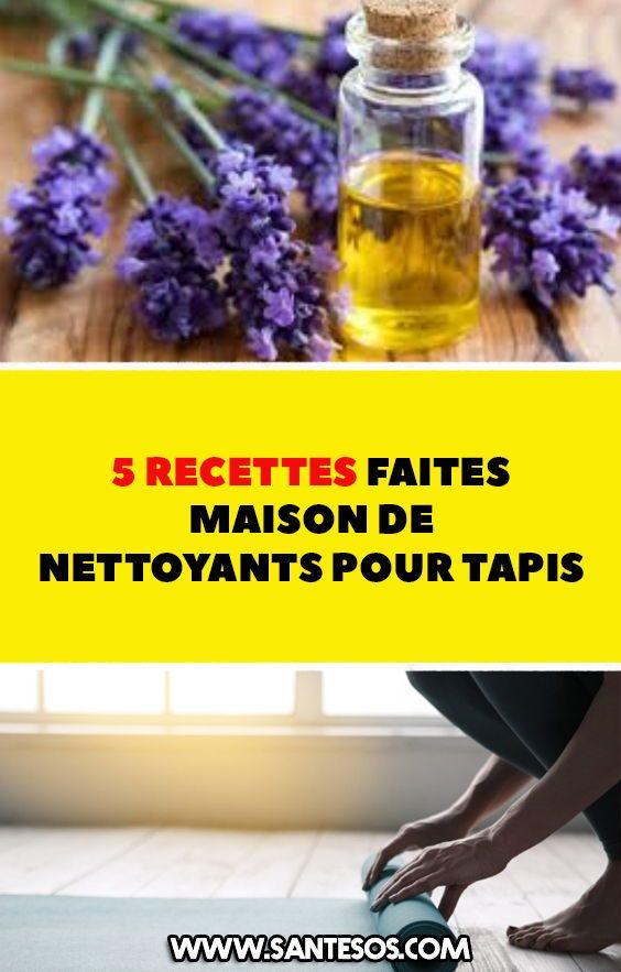 5 Recettes Faites Maison De Nettoyants Pour Tapis Trucs Et Astuces
