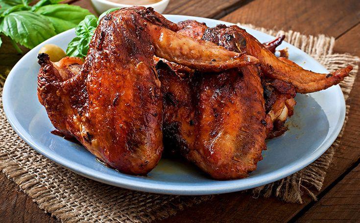Рождество 2019: Жаренные куриные крылья (рецепт | Идеи для ...