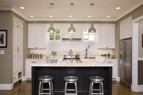 Have a galley kitchen? remove the wall bw kitchen and dining for an open space kitchen.
