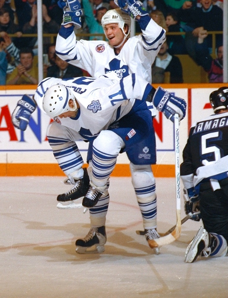 Mike Foligno, Toronto Maple Leafs