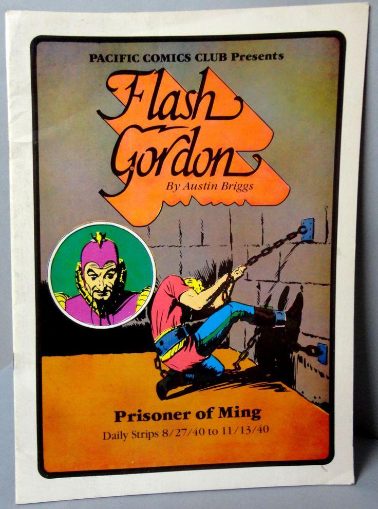 FLASH GORDON #2 Prisoner of MING Austin Briggs large size B & W reprints 8/27/40-11/30/40 Pacific Club 1981 Limited Edition