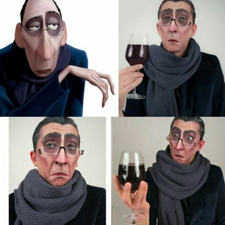 Anton Ego is one of my favourite character designs of all time.