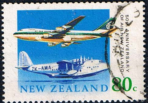 New Zealand 1990 Air New Zealand Fine Used SG 1539 Scott 978  Other New Zealand…
