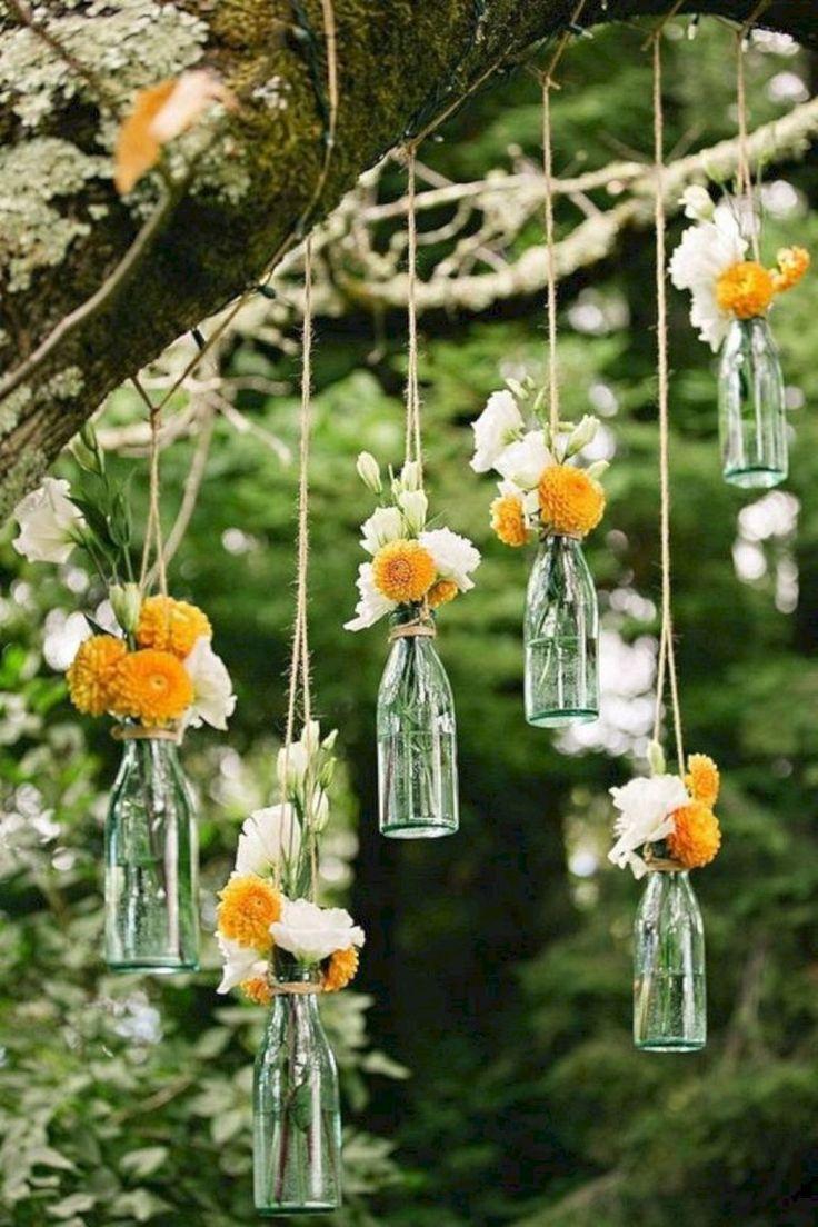 Oh, du könntest Leute Flaschen für dich sammeln lassen, wie Weinflaschen! Eine Vielzahl von …   – Jasmine Wedding Inspo ✨