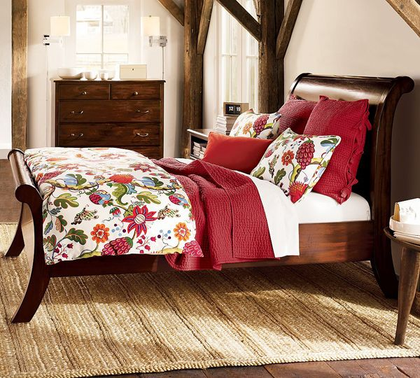 Modern or Contemporary Bedrooms: Sleigh Beds