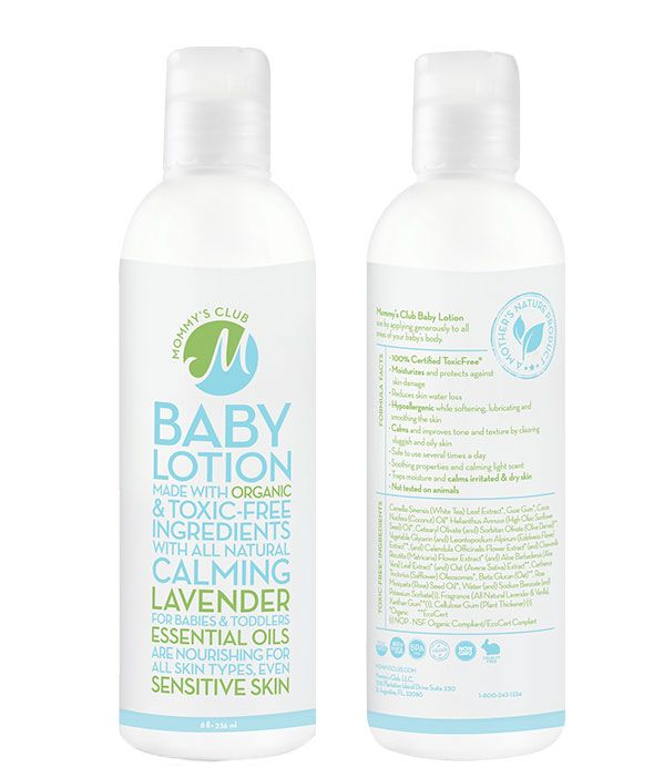 Great lotion...can also be used as a conditioner for in the shower or just a leave in conditioner...not just for babies!