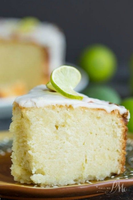 Key Lime Pound Cake Recipe Oprah
