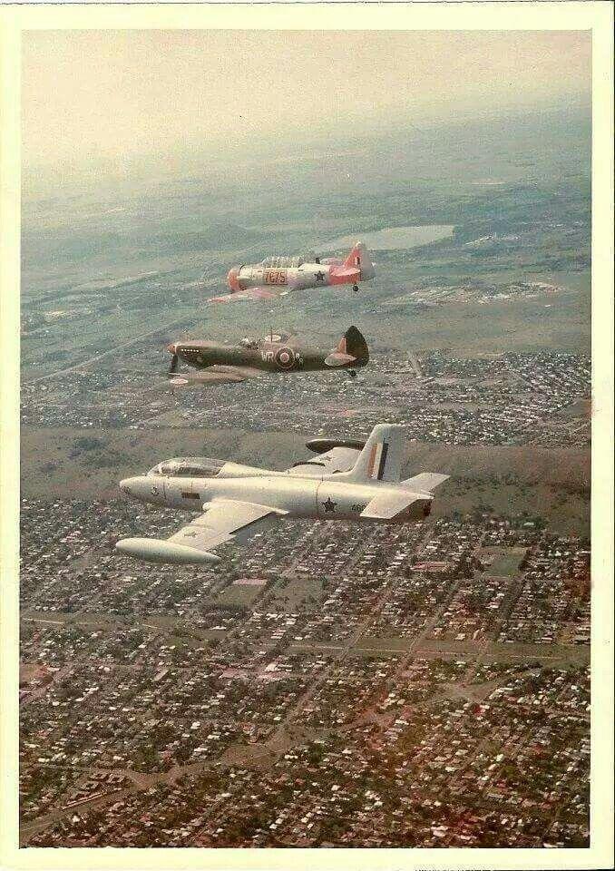 SAAF Impala, Spitfire and Harvard