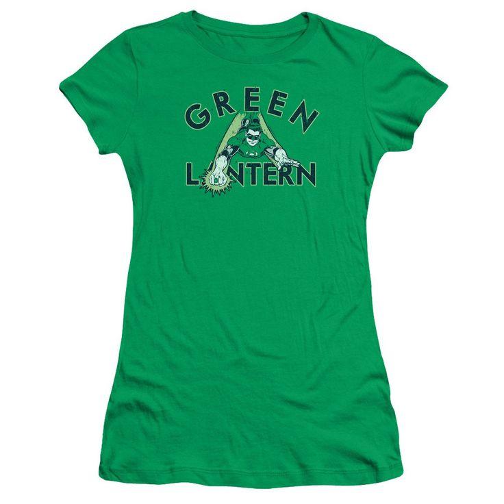 Green Lantern T-Shirt In-Flight on Green