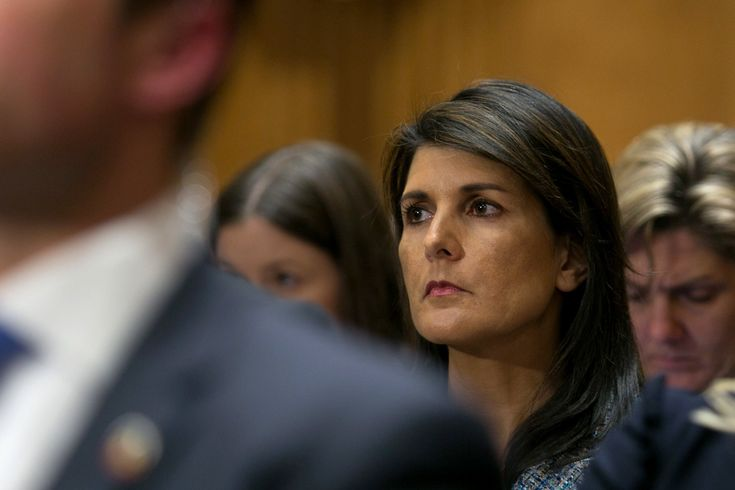 Sanctions Flap Erupts Into Open Conflict Between Haley and White House