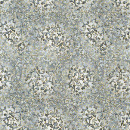 Robert Kaufman Fabrics: EYJM-6644-186 SILVER from Fusions® 6644