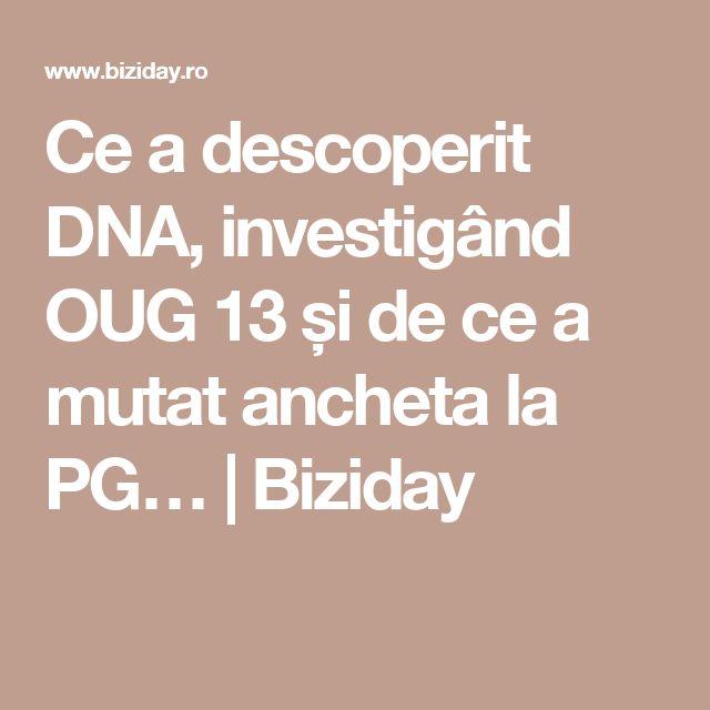 Ce a descoperit DNA, investigând OUG 13 și de ce a mutat ancheta la PG…   Biziday