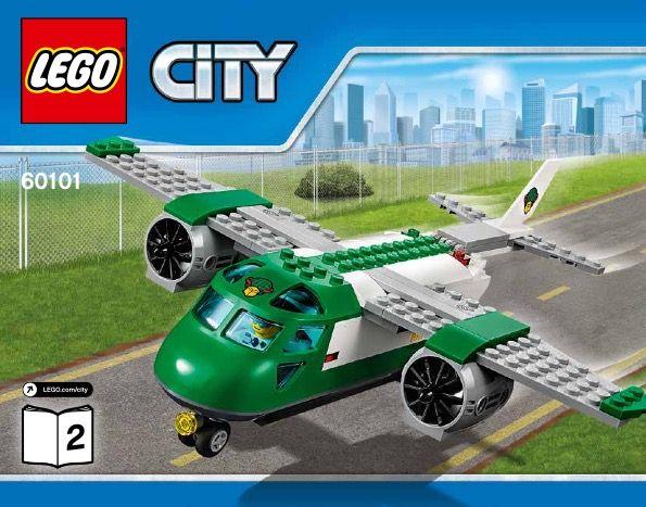 City - Airport Cargo Plane [Lego 60101]