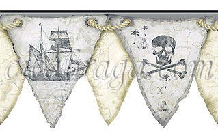 Bandeira pirata.
