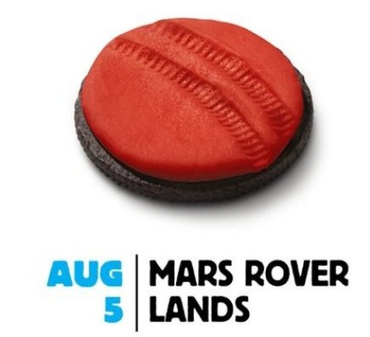 Oreo's Daily Twist :-)Commemorative Curio, Curio Land, Daily Twists, Mars Land, Oreo Mars, Curio Mars, Oreo Celebrities, Mars Curio, Oreo Daily