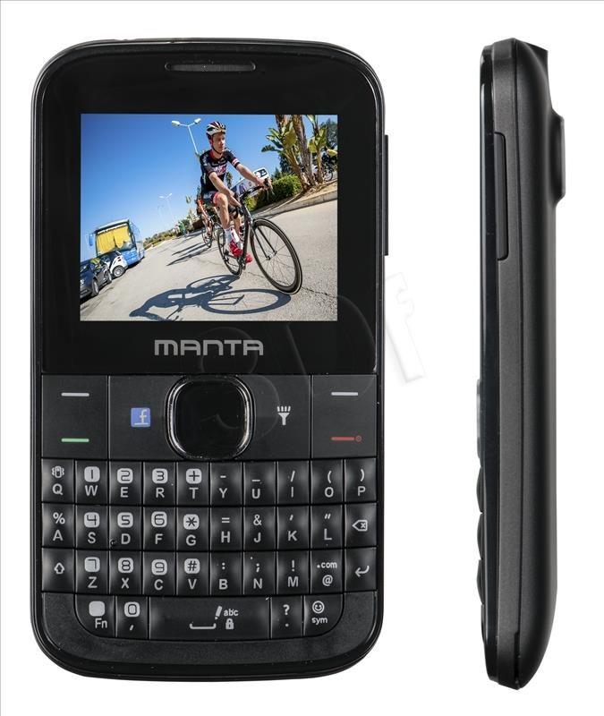 TELEFON MANTA TEL2201 2,2 CZARNY