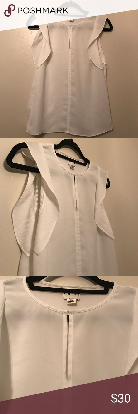 REISS BLOUSE REISS SLEEVELESS BLOUSE Reiss Tops Blouses