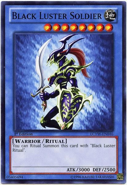 YuGiOh Legendary Collection 3 Common Black Luster Soldier LCYW-EN046