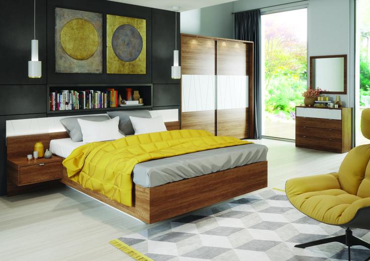 Kolekcja Zefir to meble do sypialni, które pozwalają na stworzenie niezwykłego miejsca, sprzyjającego budowaniu atmosfery relaksu i regeneracji #sypialnia #bedroom #meble #furniture #odpoczynek #relaks #relax #inspiracja