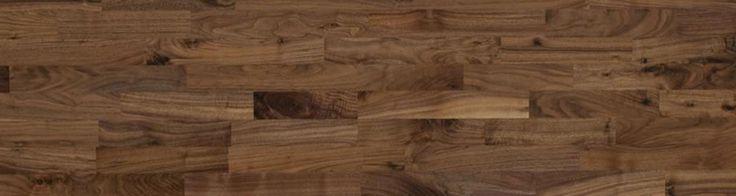 Woodline Parquetry solid wood flooring - Walnut 3 strip