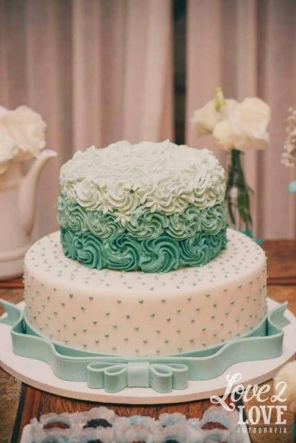 bolo azul tiffany 15 anos