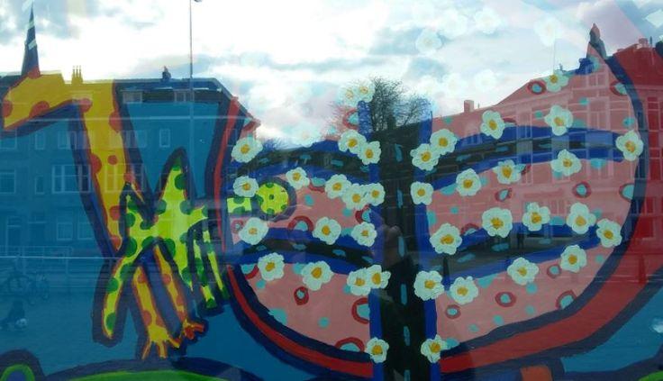 Kunst im Spiegel, Maastricht - Foto: S. Hopp