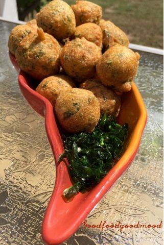 Good Food Good Mood: Oats-Spinach Pakode