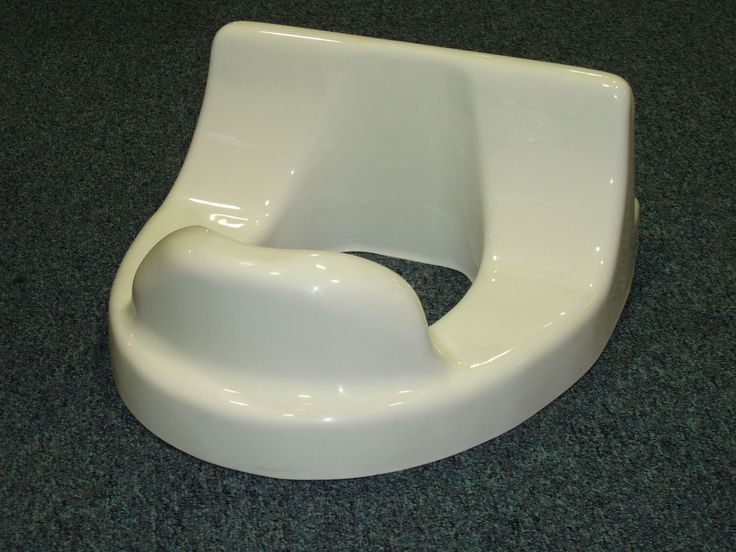Custom supportive toilet seat