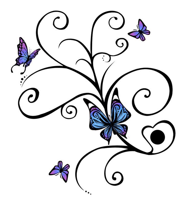 best 25 colorful butterfly tattoo ideas on pinterest. Black Bedroom Furniture Sets. Home Design Ideas