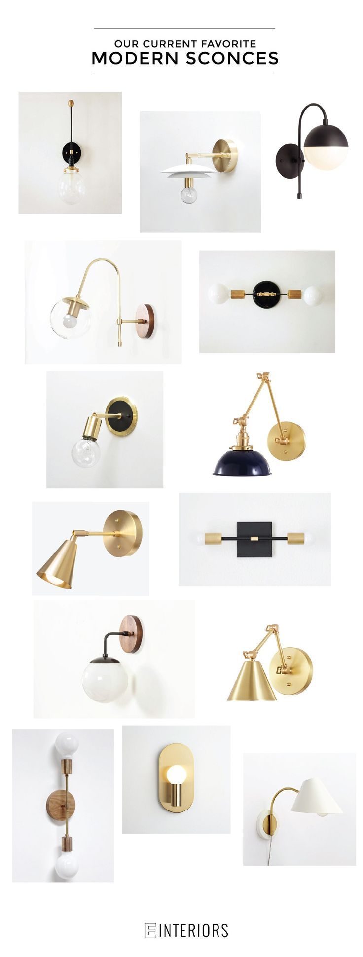 We are sourcing all types of lighting for clients and right now we are all about sconces. Use them in the bathroom, bedroom or hallway to make a statement.