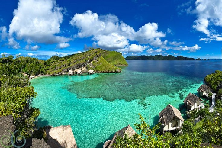 Misool Eco Resort - Raja Ampat, Indonesia...this place seems like magic saw it in a documentary ....great for divers