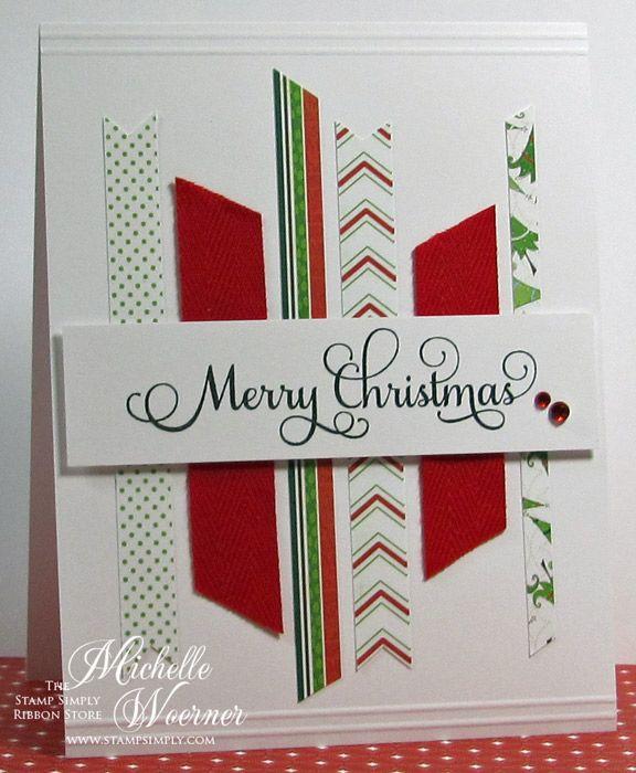 242 best Handmade card ideas images on Pinterest Christmas cards - christmas card layout