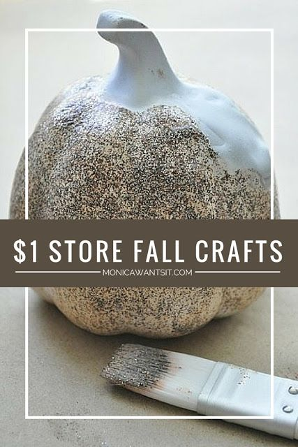 dollar store fall pumpkin craft ideas trees pumpkin crafts and posts. Black Bedroom Furniture Sets. Home Design Ideas