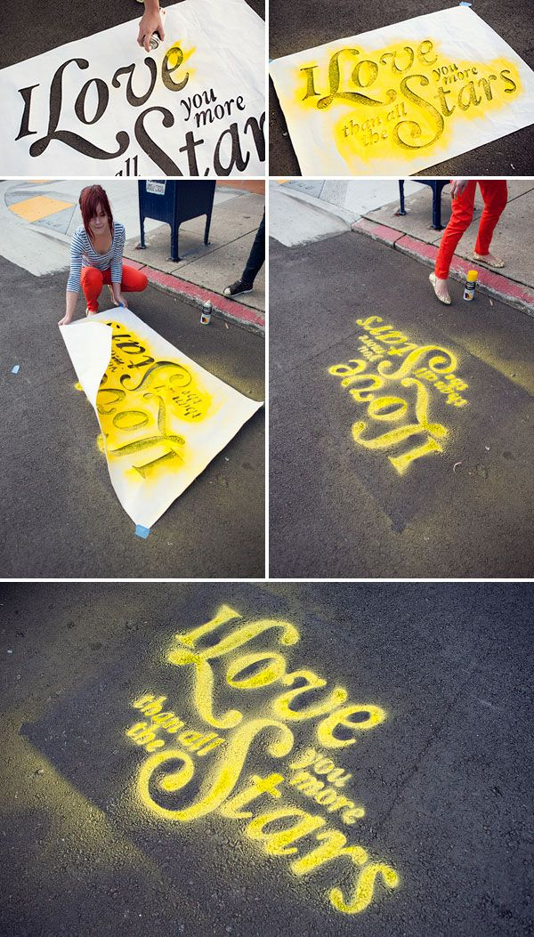 Chalk Stencils Surprise with chalk spray   Dicks Sporting Goods and ACE Hardware are two stores that sell spray chalk locally.    Read more: Where Can I Purchase Spray Chalk? | eHow.com http://www.ehow.com/facts_5751148_can-purchase-spray-chalk_.html#ixzz2C7fEFzon