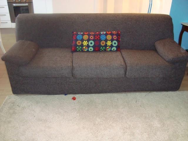 casa de fifia: como renovar um sofá gastando pouco. come rinnovare divano spendendo poco
