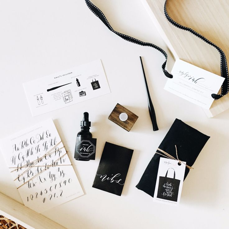 Modern Calligraphy Starter Set By Angelique Ink Products