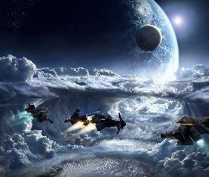 Fantasy, Statki kosmiczne, Kosmos