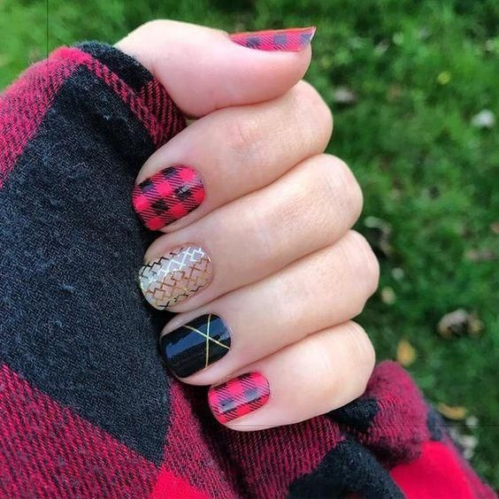 Best 25+ Long Red Nails Ideas On Pinterest