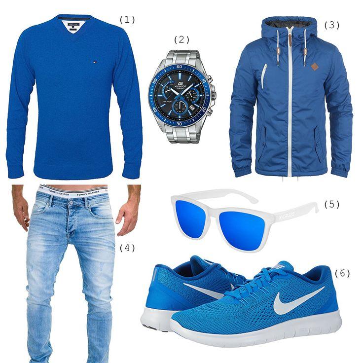 Schicker blauer Look – SmartLookz – Outfits für Männer