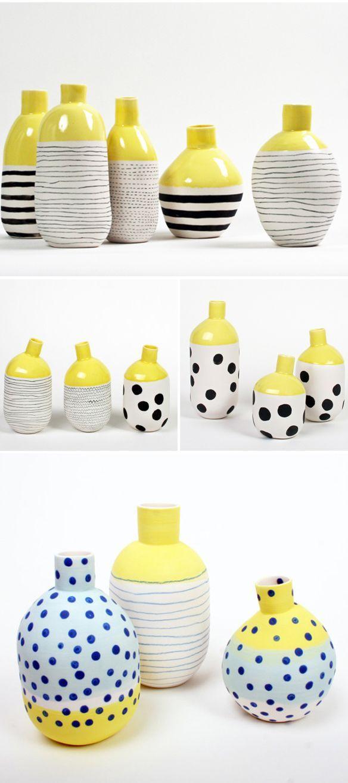 Pottery | éric hibelot & jean-marc fondimare - Colour Inspiration for colour palette exercise.